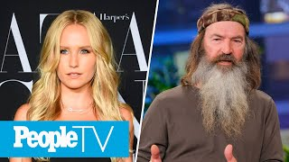 Duck Dynasty's Phil Robertson Has Adult Daughter, Sailor Brinkley-Cook Talks Body Image | PeopleTV