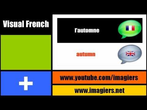 [Visual French lesson] The seasons