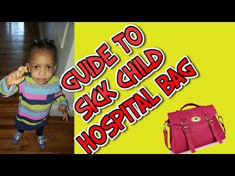 👜👜A Guide Sick child hospital bag💼💼