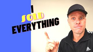 I SOLD EVERYTHING TO TRAVEL   VLOG ONE