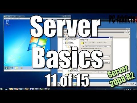Server Basics (11) | Home Drives & Folder Redirection