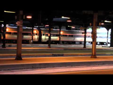Amtrak Maple Leaf Arriving at Toronto Union Station