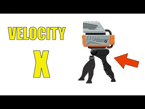 VELOCITY X - See How Far and Fast You Are  BLASTING Darts