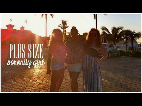 Plus Size Sorority Girl ♡ Recruitment Process | whirlsandcurls