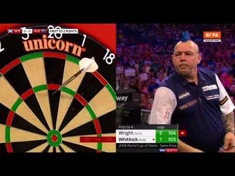 2018 World Cup of Darts Semi Final Scotland vs Australia