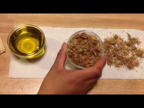 How To Make Infused Arnica Oil