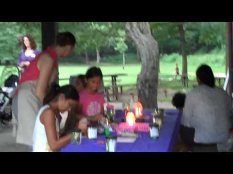 Kids make Firefly Bug Jars!