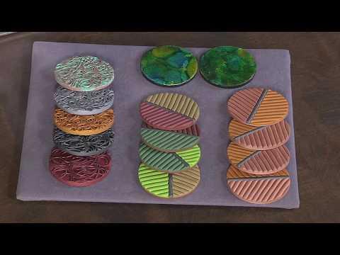 premo 3D Textured Coasters