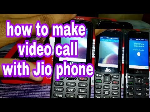 How to do video call in Jio phone