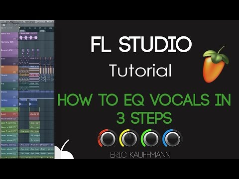 How to EQ vocals in 3 easy steps - FL Studio - Tutorial
