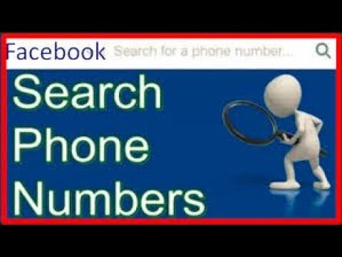 How To Get Mobile Phone Number Of Any Facebook User 2018 EASILY