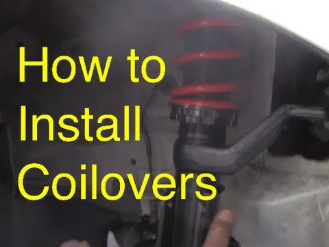 How to Install Coilover | How to lower | Slammed RSX
