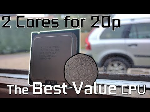 2 Cores for 20p ($0.25) // The Best Value for Money CPU?