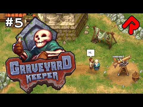 The BLASPHEMOUS ASTROLOGER!   Let's play GRAVEYARD KEEPER gameplay ep 5 (Alpha)