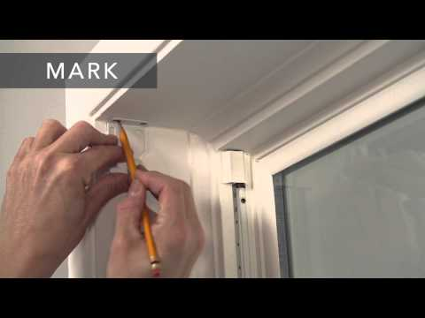 Bali Blinds | How to Install Solar/Roller Shades with Continuous-Loop Lift – Inside Mount