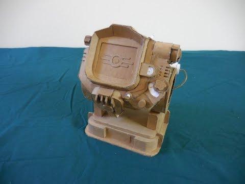 Cardboard Pip-Boy 3000 Mk. IV (50 subscriber benchmark!)