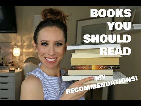 READING RECOMMENDATIONS | BOOKS I LOVE YOU SHOULD READ