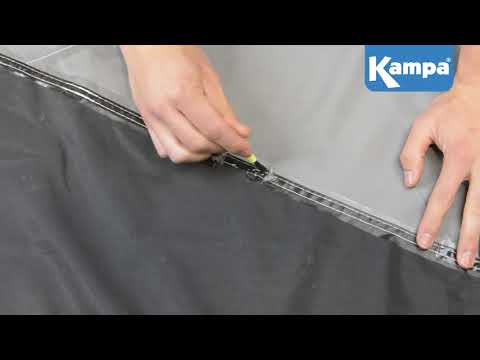 Kampa  How To Use Seam Sealant