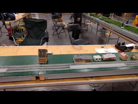 2016 Virginia Beach Train Show - N Scale T-TRAK Layout