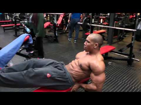 Amazing Chest and Abs for fast shreds and size