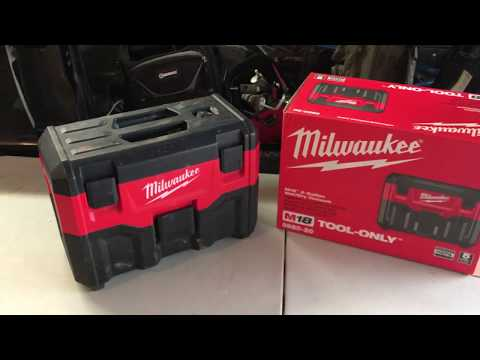 Milwaukee 2 Gal Wet/Dry Vac