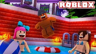 ROBLOX HALLOWEEN POOL PARTY