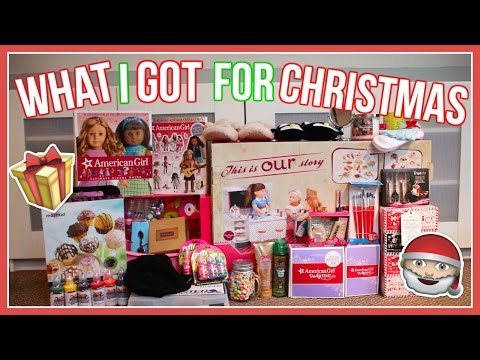 WHAT I GOT FOR CHRISTMAS 2016! | Christmas Haul ~ AG and non AG