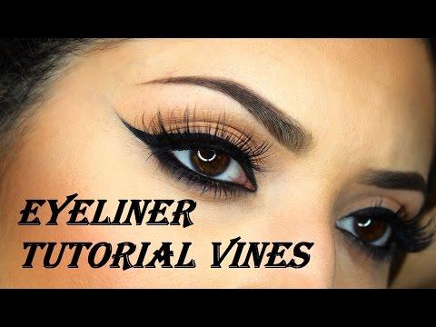Eyeliner tutorial vine compilation | Best of Instagram