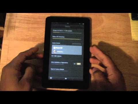 Kindle Fire: How to Reset Back to Default Settings​​​ | H2TechVideos​​​
