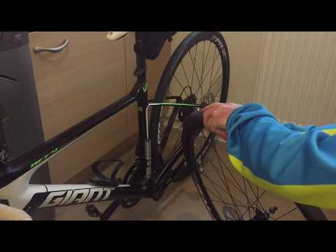 First Time Installing Bicycle Rim Tape