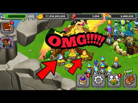 Breeding Sun and Moon Dragons!! Dragonvale!