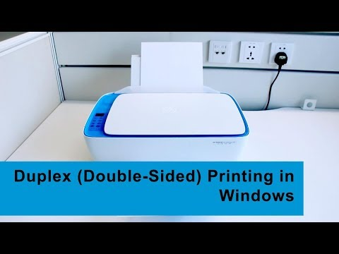 Your Printer to Double-Sided Printing on a Windows