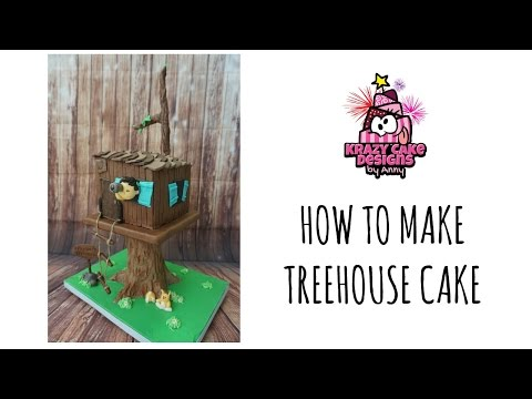 How to make Treehouse cake