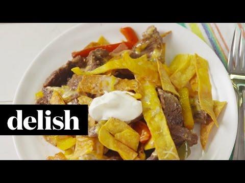How To Make Steak Fajita Skillet | Delish