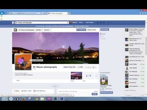 How to Add a Profile Picture to Facebook