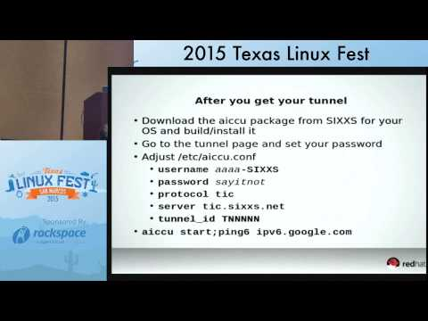 IPv6, What is it good for now? (Texas Linux Fest)