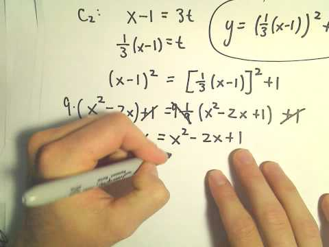 Finding Where Two Parametric Curves Intersect