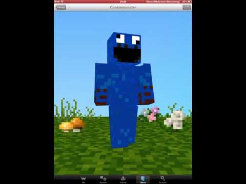HOW TO GET MINECRAFT SKINS ON YOUR IPAD/IPHONE NO JAILBREAK!