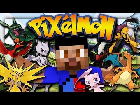 LEGENDARY POKEMON BATTLE! - Minecraft PIXELMON CHALLENGE!