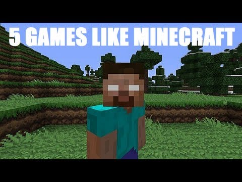 5 Games Like Minecraft | Building and Sandbox Games !