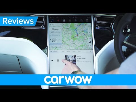Tesla Model X 2018 interior and infotainment review | Mat Watson Reviews