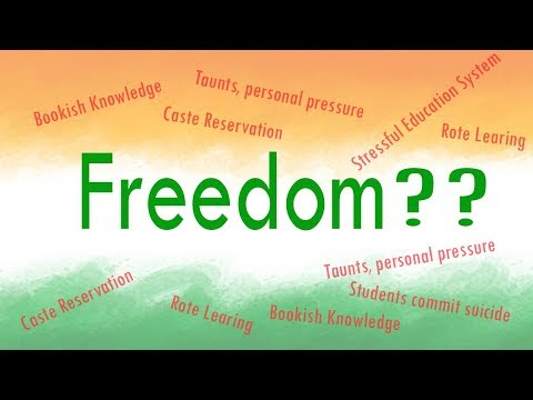 Freedom for Students? Happy 71st Independence Day | The Voice of an Indian Student