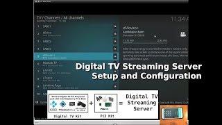 Kodi with DVB-T and Tvheadend - Part 1