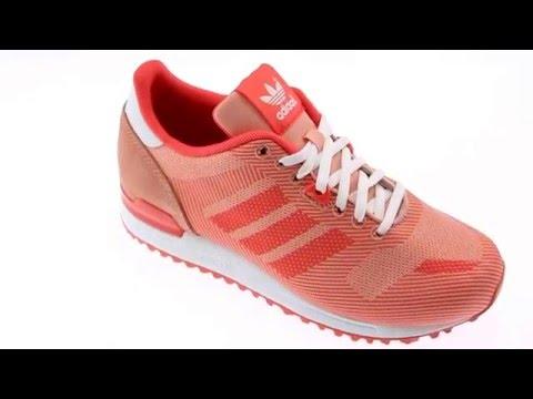 buy online 60173 023d3 Adidas ZX 700 WEAVE roze lage sneakers   Sooco.nl