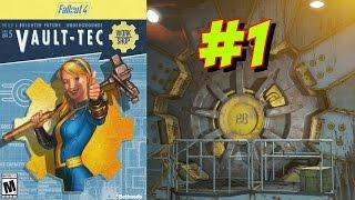 Fallout 4 - Убежище 88 - #часть1 - А ну отвалили от моеё двери!!!