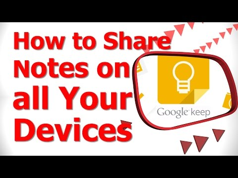 How to Share Notes on all Your Devices