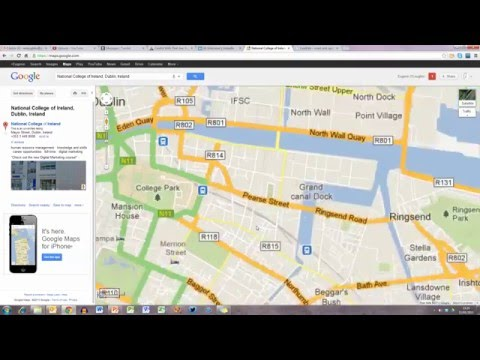How To... Embed a Google Map into a PowerPoint 2010 Presentation