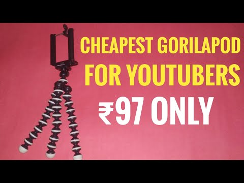Cheapest gorilapod for youtubers | unboxing