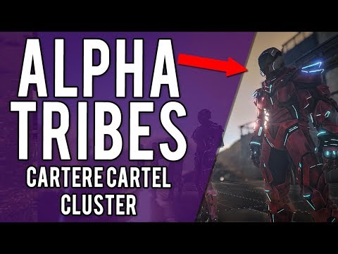 ARK ALPHA TRIBES ON THE CARTERE CARTEL CLUSTER - PVP PS4 BOOSTED SERVERS