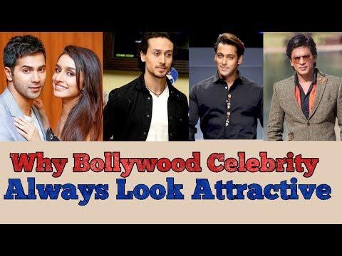 Why Bollywood Celebrity Varun Dhawan,Tiger Shroff,Salman khan,Shahrukh khan Always Look Attractive